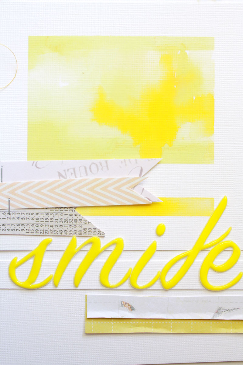 Smile-yellow-layout2, yellow, water color, art, scarlet bird designs