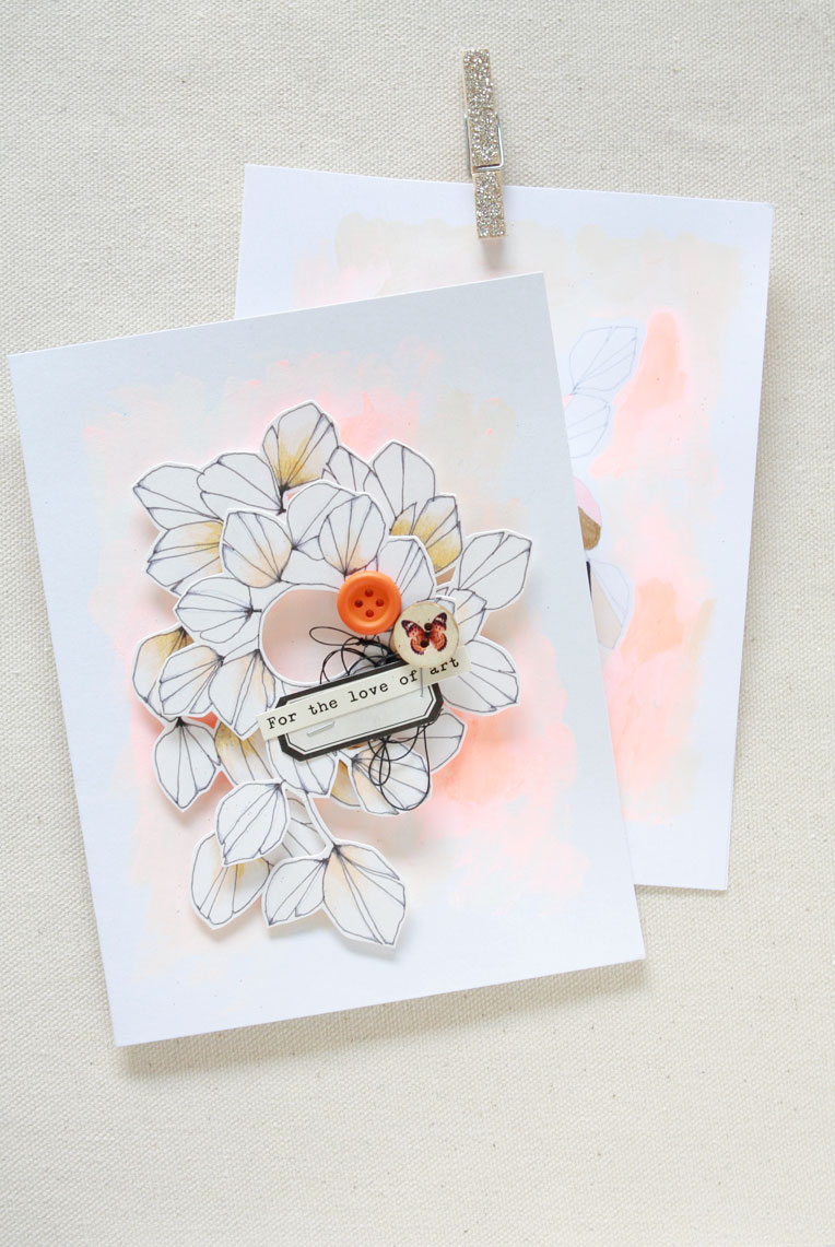 Spring-art-cards