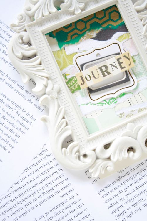 Color-crush-green2, collage tag, green tag, collage, white frame, text pages, styling, color crush, pantone, emerald