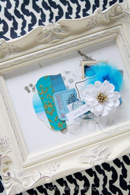 Blue-artwork