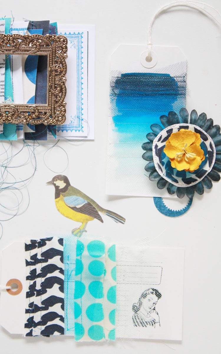 Blue-inspiration-board
