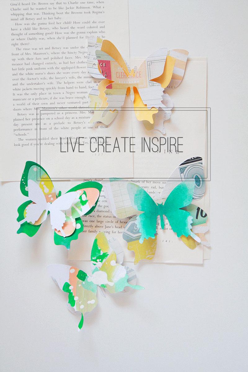 Painted-butterflies