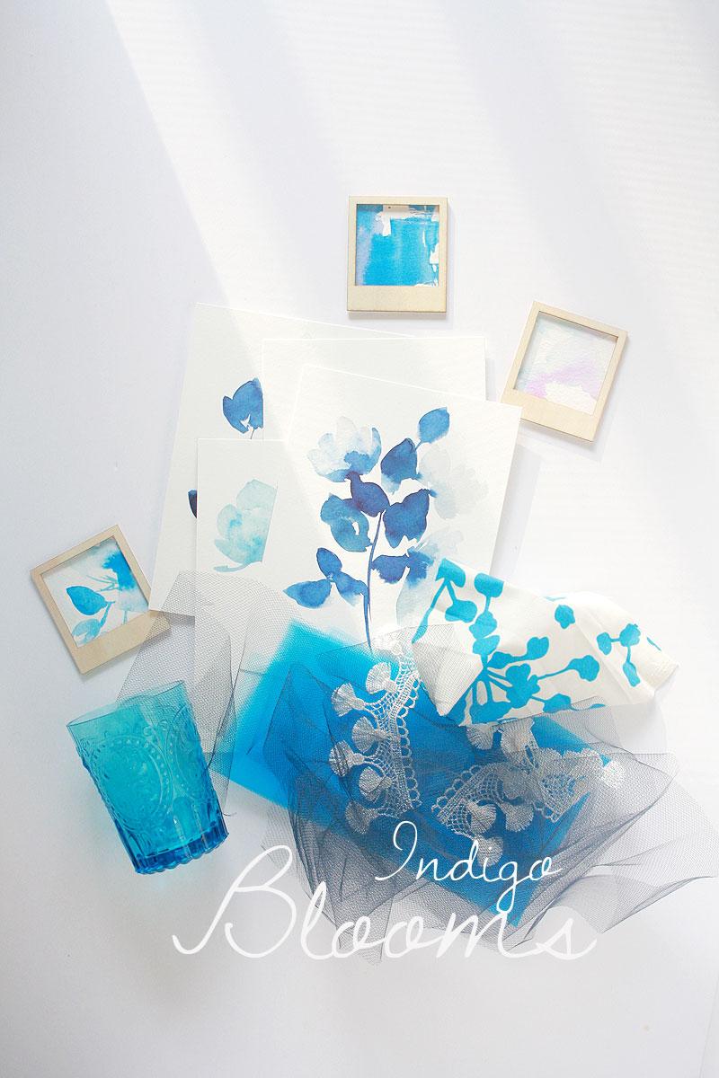 Indigo-blooms