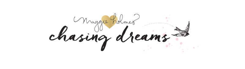 Maggie Holmes Chasing Dreams Logo